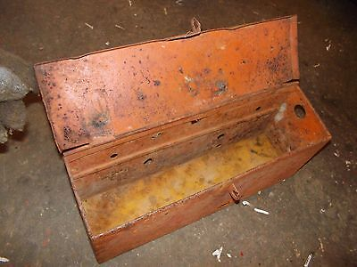 Allis Chalmers WD 45 WD45 tractor AC fender mount tool box w/lid
