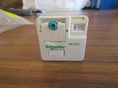 Schneider DPDT PCB Mount Non-Latching Relay RUMC2AB1ED 10A 48Vdc A2 139662