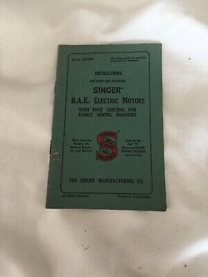 EXTENDED Singer 27 K 28 K 127 K 128 K Sewing Machine instruction Manual Booklet
