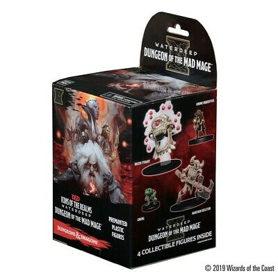 D&D Icons of the Realms Waterdeep: Dungeon of the Mad Mage Booster Wizkids New