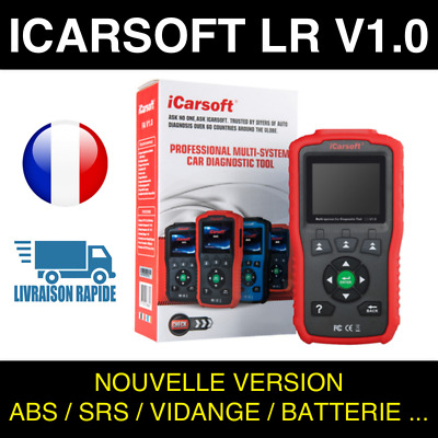 Valise Diagnostic Auto Pro - iCarsoft LR V1.0 spécial Land Rover - Jaguar