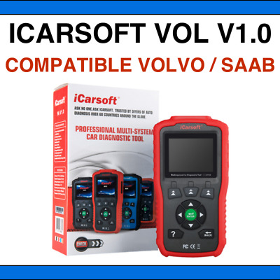 Interface Diagnostic iCarsoft VOL V1.0 - Diagnostic PRO tous systèmes pour Volvo