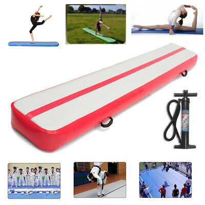 GoFun Airtrack Gonflable Tapis Air Tumbling Track Training Gymnastique Pompe