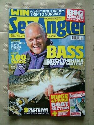 Sea Angler / #441 / Bass Catch Them In A Foot Of Water