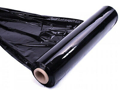 Black Shrink Wrap Packaging Strong Pallet Stretch  Cling Long Film