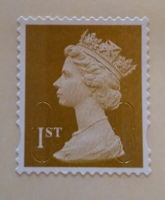 100 x 1st FIRST CLASS LETTER SELF ADHESIVE UNFRANKED STAMPS, EXCELLENT CONDITION