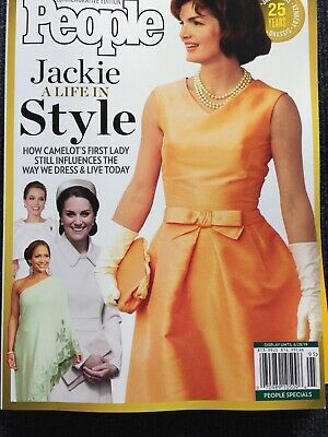 People Commemorative Edition 2019, Jackie Kennedy, A Life In Style, Brand New!