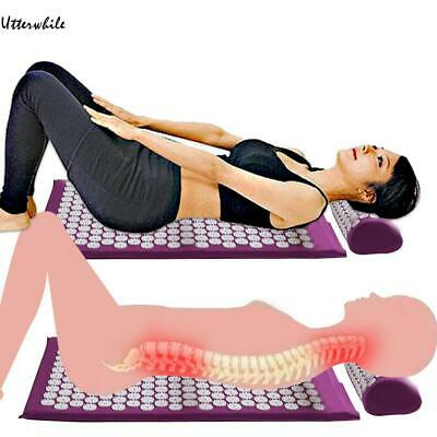 Massage Cushion Acupressure Relieve Back Pain Body Massage Mat with U8HE 02