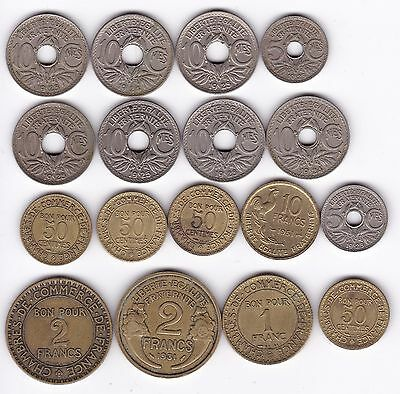 Collection Of French Coins | Pennies2Pounds