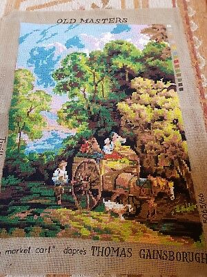 Completed Gainsborough  Wool Tapestry