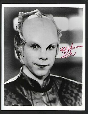 Bill Mumy signed 8x10 photograph Star Trek Lennier