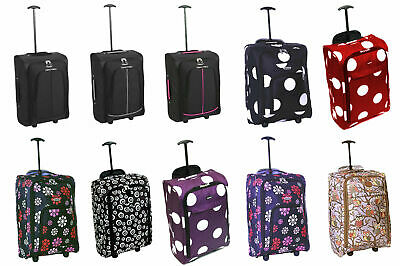Hand Luggage Cabin  Suitcase Ryanair Wheeled Trolley Travel easyjet Case Bag