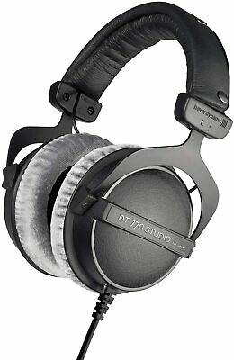 beyerdynamic DT 770 PRO 80 Ohm Over-Ear Studio Headphones - Black