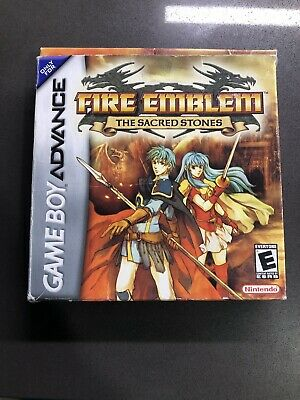 Empty Box for Fire Emblem: The Sacred Stones Nintendo Game Boy Advance GBA