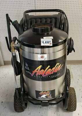 Aaladin 14-423ss Used Hot Water Pressure Washer