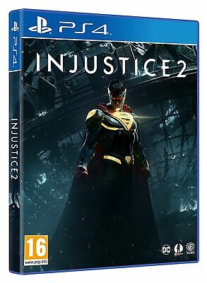 Injustice 2 (PS4 PLAYSTATION 4 VIDEO GAME) *NEW/SEALED* 5051892205016, FREE P&P