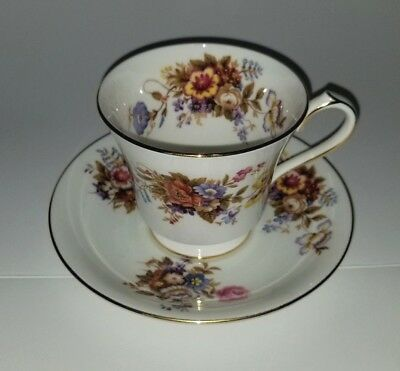 Antique Aynsley England Tea Cup And Saucer Set Fine Bone China 2962 Gold Rare!