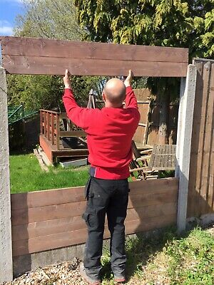 """fence panels WOOD 6'x12"""" STACKABLE see details for delivery cost"""
