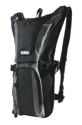Backpack+Water Bag Negro/Gris