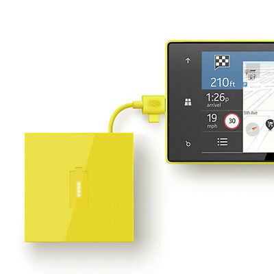 Chargeur portable Nokia DC 18 Universel USB/Micro USB, Jaune ANDROID