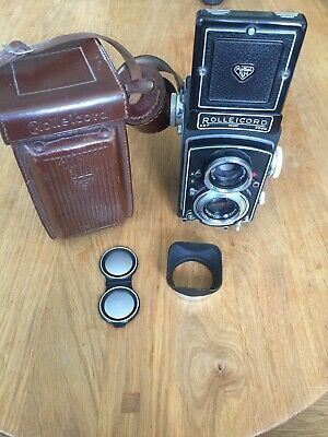Rolleicord VA Serial No.1924157 with 1 Case