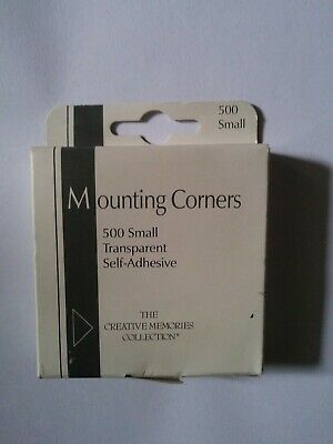 The Creative Memories Collection Mounting Corners Transparent Self Adhesive