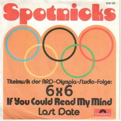 """<5943-42> 7"""" Single: Spotnicks - If You Could Read My Mind"""