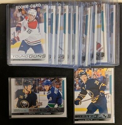 2018-19 Upper Deck Series 1 Young Guns *Pick from List* *Complete your Set*