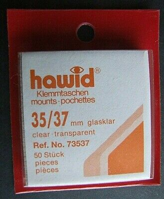 Hawid clear mounts 35 x 37mm pack of 50  or buy 4 of any size and get 1 free