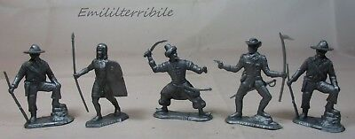 5 Soldiers Of The World - Gadget Patatine Pai San Carlo - Nabisco Cereal Premium