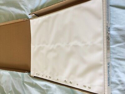 Arrowfile Panorama Photo Print storage sheets 101mm x 315mm, white.