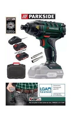 PARKSIDE 20V TEAM CORDLESS Li-ion POWERFUL IMPACT DRIVER