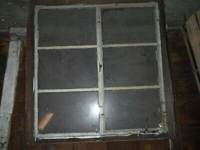 Architectural Steel Window In Wood Sash Residential Industrial Factory 6 Lite