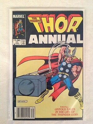 Red Hot Thor Annual 11 Mega Key 1st Appearance Of Eitri Infinity Gauntlet Forger