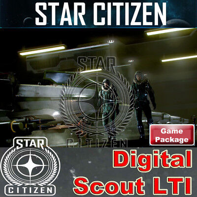 Star Citizen – Digital Scout Game Package + SQ42 - Lifetime Insurance - rare!