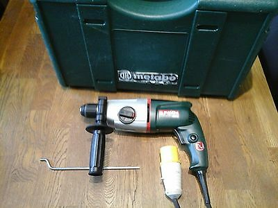 Qualiy Metabo Bhe20 110C Sds Hammer Drill With Case..drill,Tool,Wall