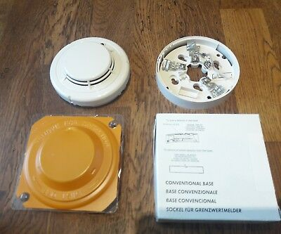 Honeywell Notifier Sd851E Conventional Optical Smoke Detector Fire Alarm + Base