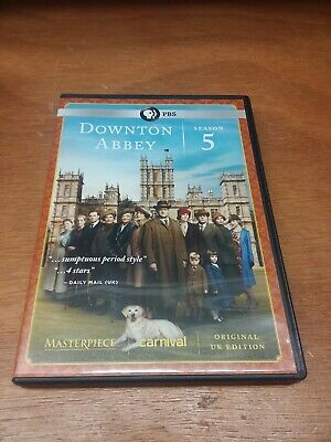 Downton Abbey: Season 5 (DVD, 2015, 3-Disc Set)