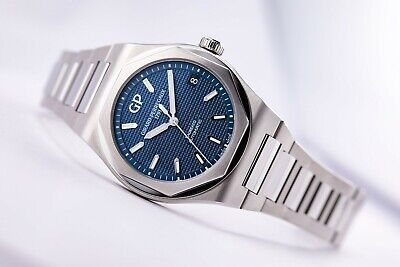 Girard Perregaux Laureato 42mm Steel Blue Dial Automatic - FACTORY FRESH