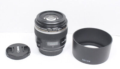 CANON EF-S 60mm USM MACRO F/2.8 Lens for EOS 7D 70D 80D Rebel T5i T6 T7i SL2 etc