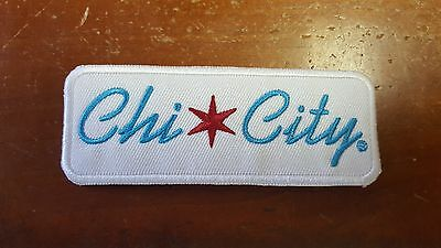 Chi-City Apparel 2nd Generation Classic Logo Iron On-Patch