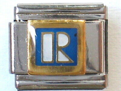 Niece Italian Charm Genuine 100/% Stainless Steel Classic sz 9mm fits Nomination