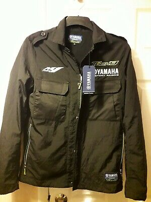 6c0a06e2e8fbd Official M1 Tech 3 Yamaha Factory Racing LightWeight Soft Shell Black Jacket