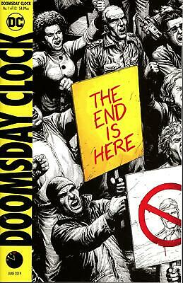 DOOMSDAY CLOCK #1 (OF 12) Final Print Variant 2019 DC Comics 04/17/19