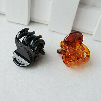 12Pcs/set Hair Crab for Little Girl Plastic Mini Hairpin Claws Hair Clip Clamp