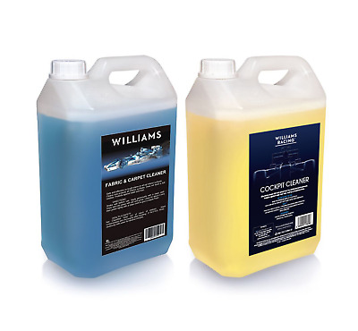 Car interior cleaning kit 5L Fabric and Carpet Cleaner and 5L Cockpit Cleaner