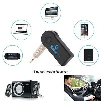 Mini USB Wireless Bluetooth 3.5mm AUX Audio Stereo Music Car Receiver AdapteCYH