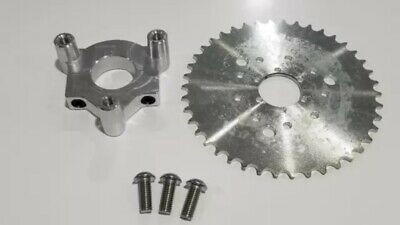 """CMRPOWER Hub Adapter 1.5"""" And 40T Chain Drive Sprocket For 2 Stroke Engine Kit"""