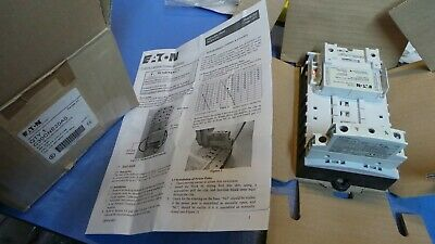 1 – Eaton C30CNE20A0 Lighting Contactor 30amp 2 no pole Light Cont 120V. NEW