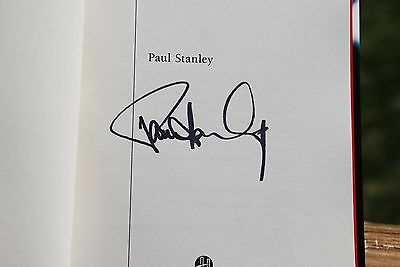 Face the Music : A Life Exposed Signed by Paul Stanley of KISS